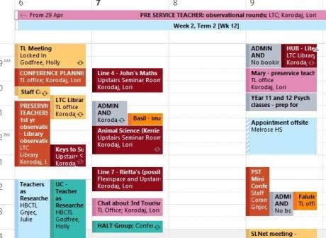 TL calendar example