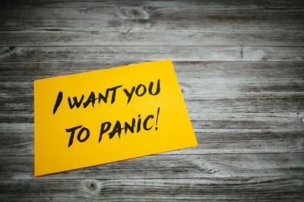Panic - Photo by Markus Spiske on Unsplash